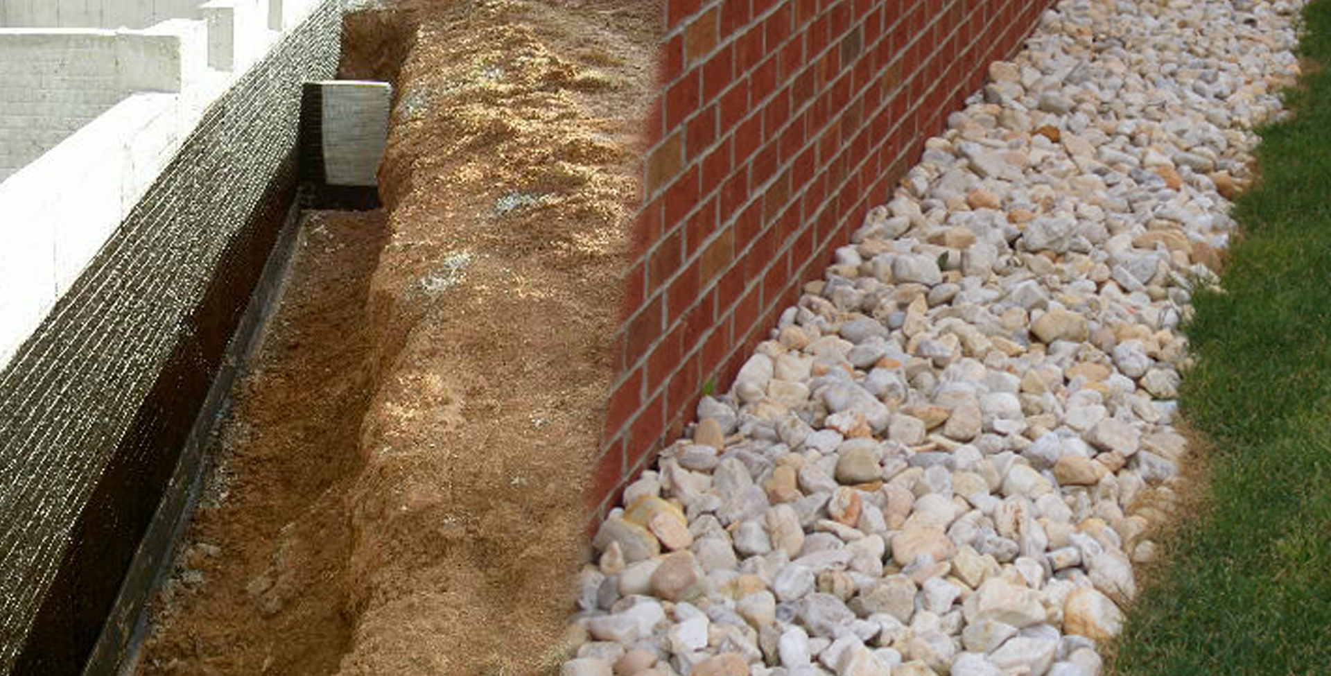 Construction apx french drain specialists for Residential french drain